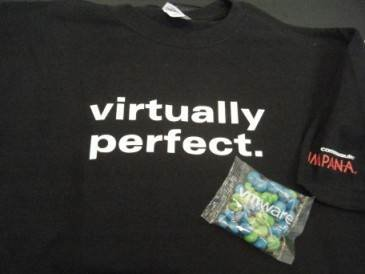 CommVault's t-shirts
