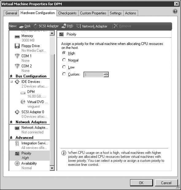 New virtual machine management using VMM, PowerShell