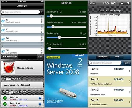 iPhone apps for Win admins