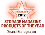 Storage magazine product of the year finalist logo