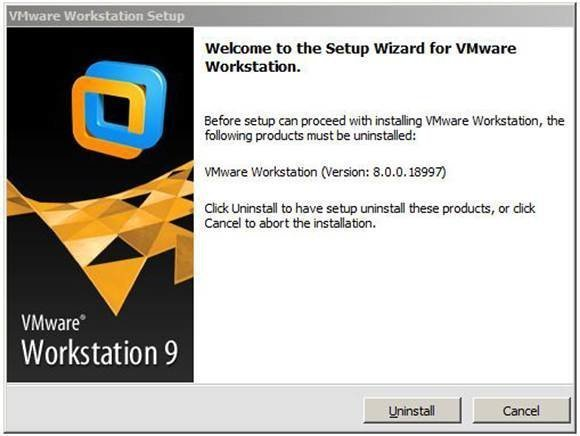 ALT: VMware Workstation Setup Wizard.