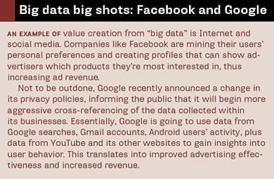Big data bigshots