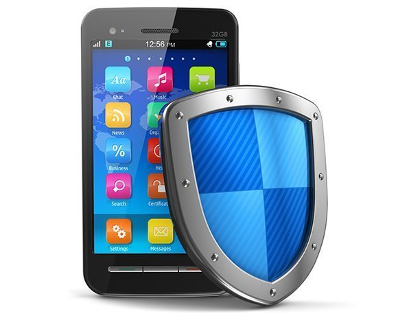 smartphone apps with security shield