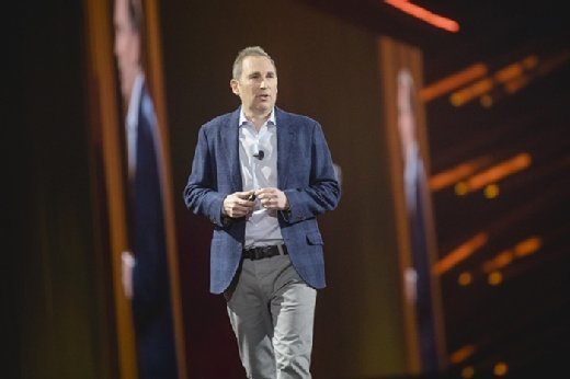 AWS CEO Andy Jassy at re:Invent 2017
