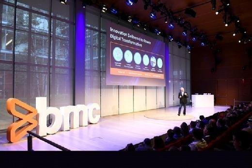 Bill Berutti presents at the BMC Exchange event