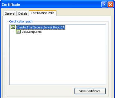 Managing SSL certificates in VMware View 5
