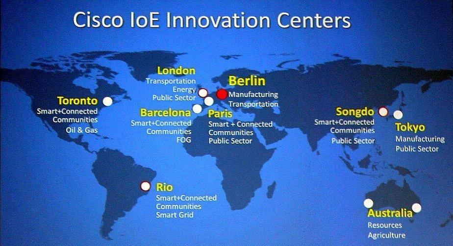 openBerlin ist eines von neun Cisco Innovation Centers weltweit.