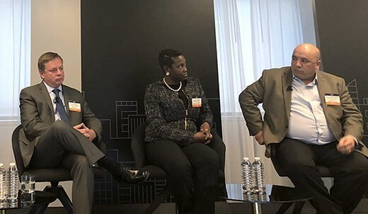 Panel discussion on DLP at the Argyle CISO Leadership Forum.