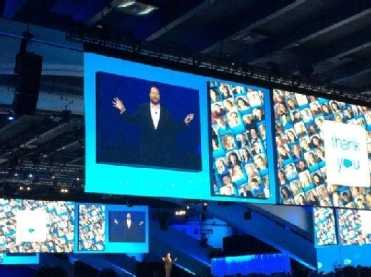 Dreamforce 2015 keynote mobile Salesforce Wave can yield results    when your house is in order