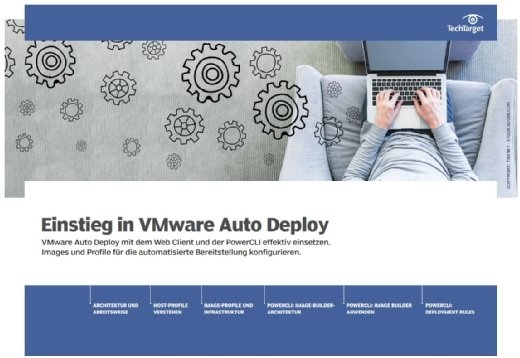 Das E-Handbook liefert Ihnen auf über Seiten Informationen rund um VMware Autor Deploy.