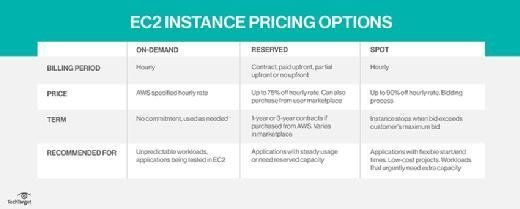 Amazon EC2 cost options