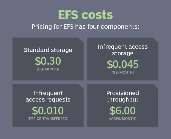 Amazon FSx vs  EFS: Compare the AWS file services