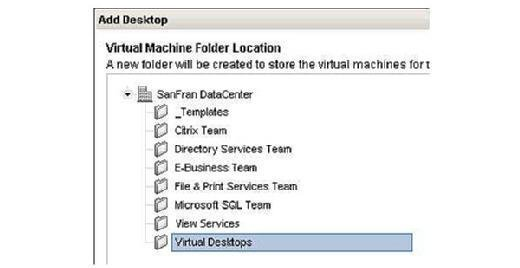 Select a host or cluster