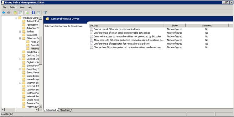 Managing Client Encryption With Bitlocker To Go