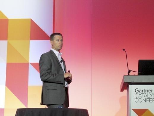 Gartner analyst Kyle Hilgendorf describes the cloud architect role at Gartner Catalyst on Aug. 21.