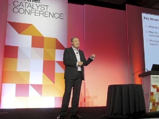 Gartner analyst Alan Waite discusses when organizations should consider private cloud at Gartner Catalyst on Aug. 22.