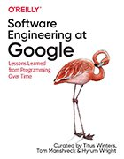 Software Engineering at Google book cover.
