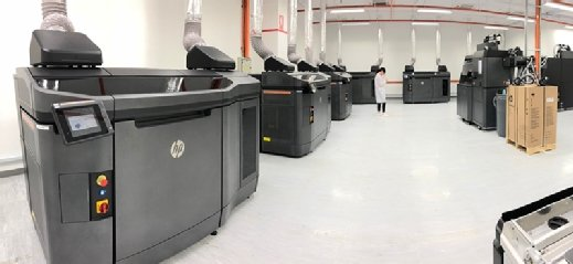 Contract manufacturer Jabil added six HP Jet Fusion 4210 3D printers to its digital factory in Singapore.