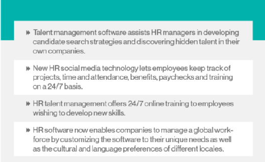 New HCM software features