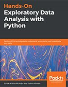 Hands-On Exploratory Data Analysis with Python book cover