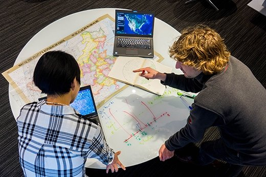 IBM researchers, PAIRS Geoscope service