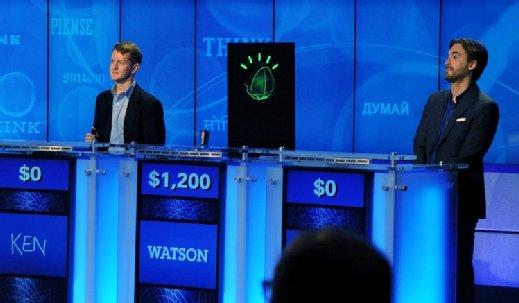 Avatar IBM Watson dans 'Jeopardy!' en 2011'Jeopardy!' in 2011