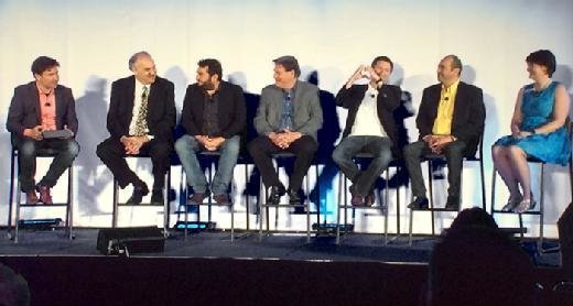 A panel discussed IoT standards at IoT World 2015