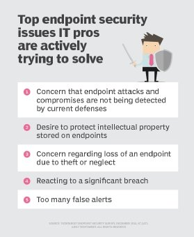Endpoint security issues