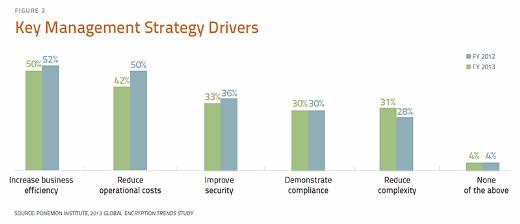 Key management strategy drivers