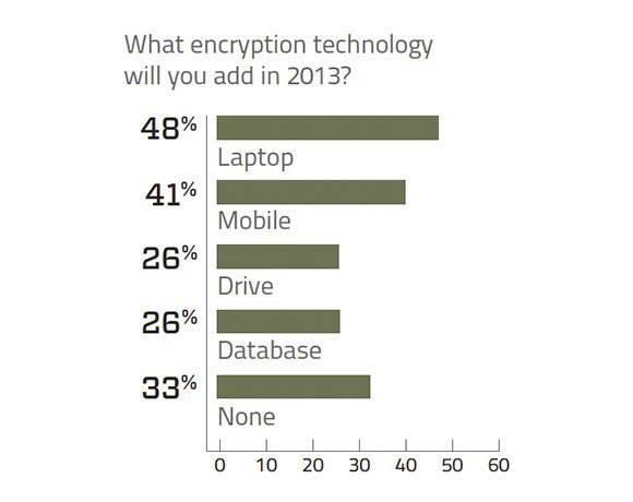 Encryption technology 2013