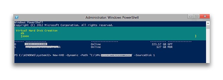 What is the Hyper-V VHD Set format and how is it optimized?