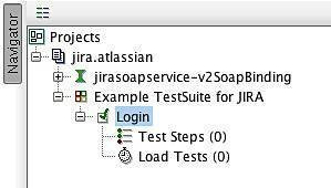 Figure 10: TestCase added to the project navigation tree.