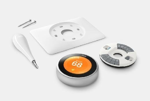 Smart home Nest smart thermostat