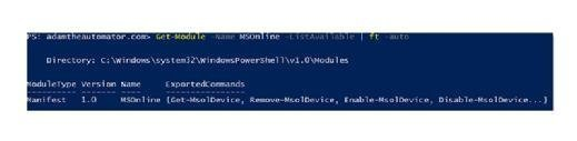 Using PowerShell for Office 365