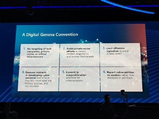 Smith's discussion of a 'digital Geneva Convention'
