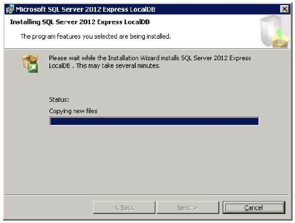 SQL Server LocalDB 4