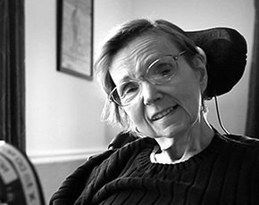 Cathy, a SpeakYourMind Foundation's custom software beneficiary