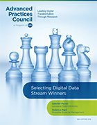 Cover image for Selecting Digital Data Stream Winners