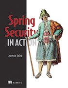 Spring Security in Action cover