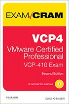 VMware exam cram book cover