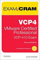 VMware exam cram book cover