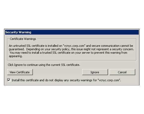 Tighter security settings on tap for VMware View and PowerCLI