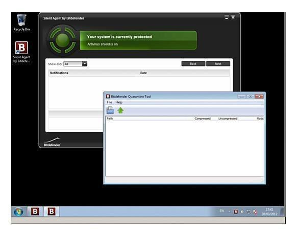 "BitDefender ""Silent Agent"" installed to Windows 7"