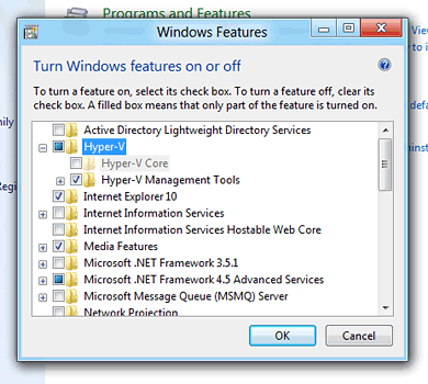 Windows 8 Hyper-V client vs  workstation virtualization software