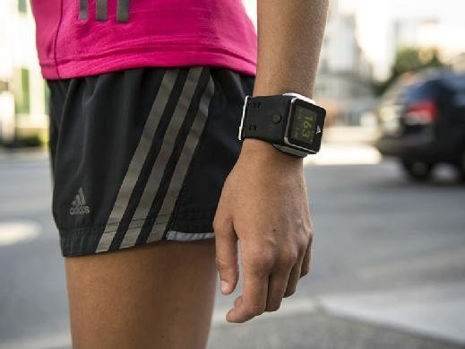 Adidas Smart Run watch with GPS for running