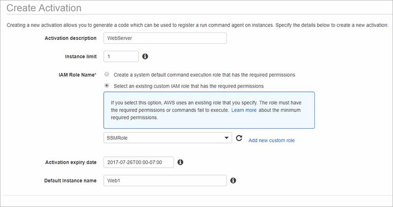 Organize hybrid compute resources with Amazon SSM agent