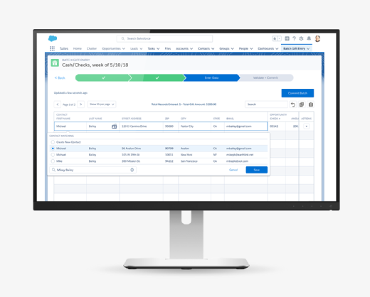 Activists get organized with new Salesforce CRM for nonprofits