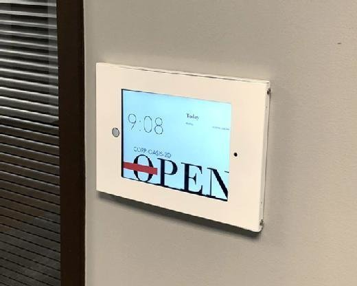 Teem's iPad-based conference room booking system