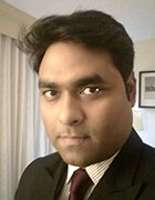 A headshot of Koustav Chatterjee, an industry analyst for Frost & Sullivan.