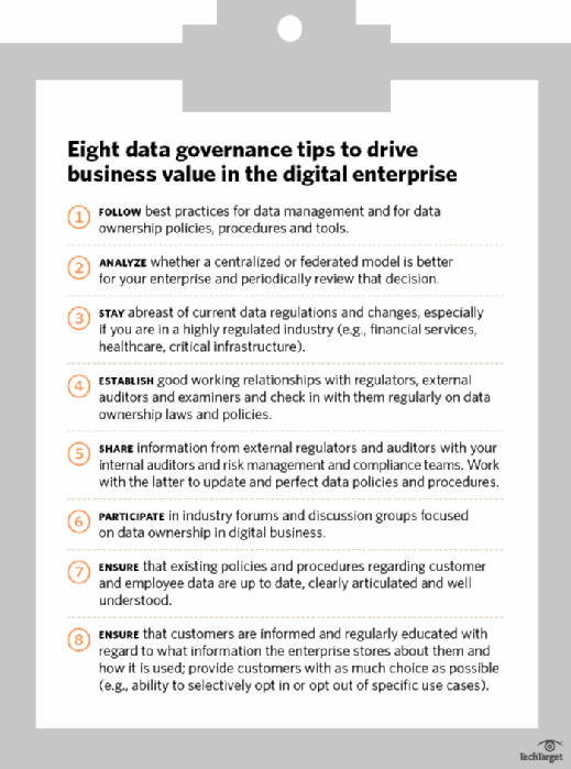 Harvey Koeppel's CIO checklist for keeping pace with data ownership